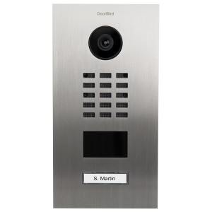 Doorbird Intercom geborsteld RVS zoutwater bestendig