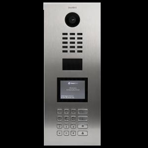 Doorbird Intercom inbouw geborsteld RVS - toetsenpaneel (vertikaal)