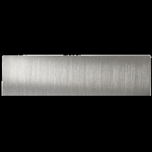 Doorbird beldrukker zonder symbool t.b.v. D21x RVS
