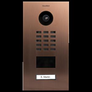 Doorbird Intercom D2101V brons - 1 beldrukker
