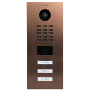 Doorbird Intercom D2103V brons - 3 beldrukkers