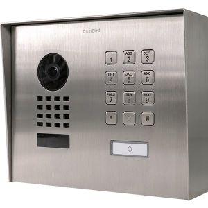 Doorbird Intercom Modern opbouw met codepaneel