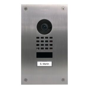 DoorBird Intercom upgrade voor D201 / D202 RVS