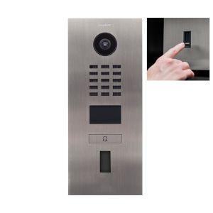 Doorbird Intercom D2101FV RVS zoutwater bestendig - 1 beldrukker - Ekey vingerscanner