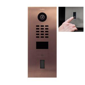 Doorbird Intercom D2101FV brons - 1 beldrukker - Ekey vingerscanner