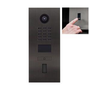 Doorbird Intercom D2101FV titanium - 1 beldrukker - Ekey vingerscanner