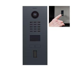 Doorbird Intercom D2101FV antraciet - 1 beldrukker - Ekey vingerscanner