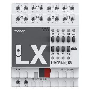 Theben LUXORliving S8 Schakelactor 8 kanaals