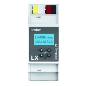 Theben LUXORliving IP1 Systeemserver ethernet interface