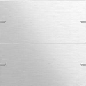 Gira Wippenset tastsensor 4 tweevoudig aluminium naturel