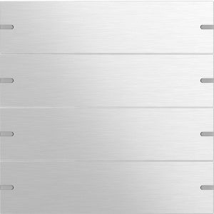 Gira Wippenset tastsensor 4 viervoudig aluminium naturel