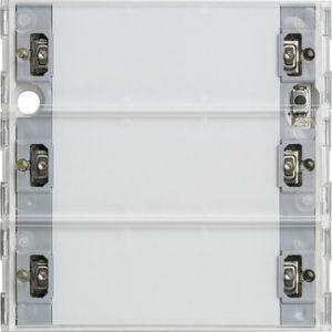 Gira Tastsensor 3 Comfort drievoudig 55/E22
