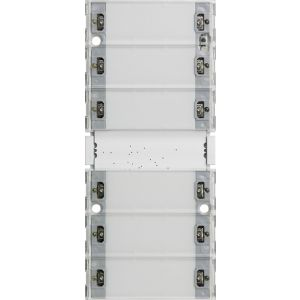 Gira Tastsensor 3 Comfort zesvoudig (3+3) 55/E22