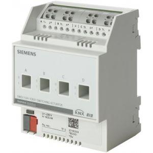 Siemens KNX Schakelactor 4 x 230V AC 6A C-last