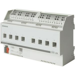 Siemens KNX Schakelactor 8 x 230V AC 6A C-last