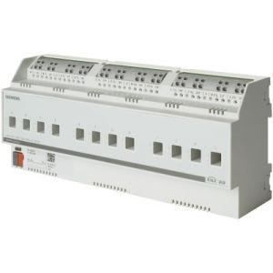 Siemens KNX Schakelactor 12 x 230V AC 6A C-last