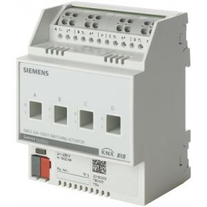 Siemens KNX Schakelactor 4 x 230V AC 20A C-last