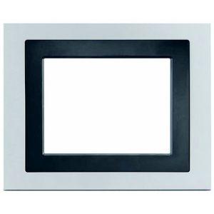 """Siemens Design afdekraam voor touchdisplay 5,7"""" - aluminium"""