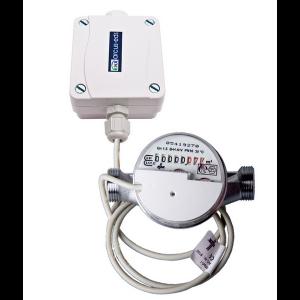Arcus KNX watermeter 2,5m³/h 80mm warm