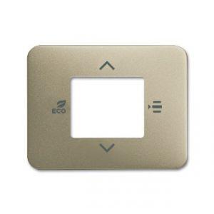 ABB KNX Centraalplaat voor thermostaat a-palladium 6109/03-260