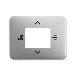 ABB KNX Centraalplaat voor thermostaat a-titanium 6109/03-266