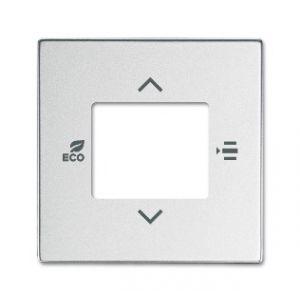 ABB KNX Centraalplaat voor thermostaat f-aluzilver 6109/03-83