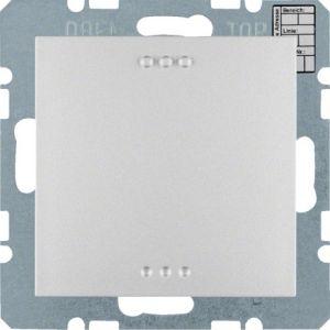 Hager KNX CO₂ / luchtvochtigheid / temperatuur sensor S.1/B.3/B.7 aluminium