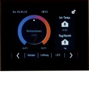 """Hager KNX touch controller 3,5"""""""