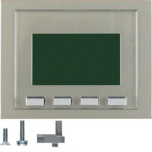 Hager Info-Display  K.1/K.5 edelstaal