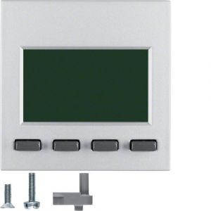 Hager Info-Display  S.1/B.3/B.7 aluminium mat