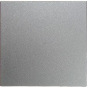 Hager KNX RF drukknop 1-voudig S.1/B.3/B.7 aluminium mat