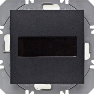 Hager KNX RF wandzender 1-voudig zonnecel S.1/B.3/B.7 antraciet mat