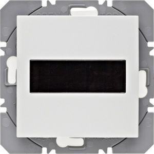 Hager KNX RF wandzender 1-voudig zonnecel S.1/B.3/B.7 polarwit mat