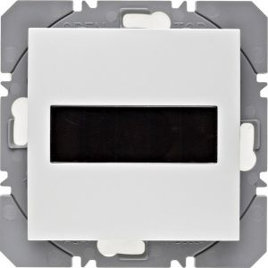 Hager KNX RF wandzender 1-voudig zonnecel S.1/B.3/B.7 polarwit glanzend