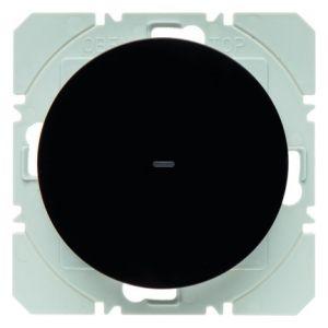 Hager KNX RF wandzender 1-voudig batterij R.1/R.3 zwart glanzend