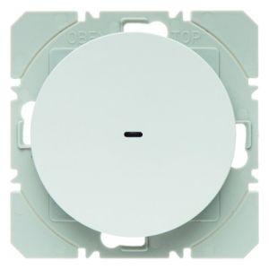 Hager KNX RF wandzender 1-voudig batterij R.1/R.3 polarwit glanzend