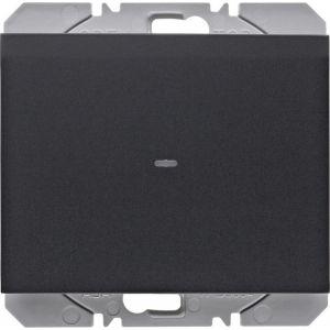 Hager KNX RF wandzender 1-voudig batterij K.1/K.5 antraciet mat