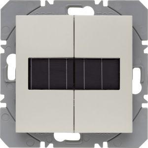 Hager KNX RF wandzender 2-voudig zonnecel S.1/B.3/B.7 wit glanzend