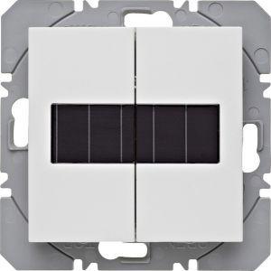 Hager KNX RF wandzender 2-voudig zonnecel S.1/B.3/B.7 polarwit mat