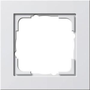 Gira Afdekraam 1v zuiver wit mat E2