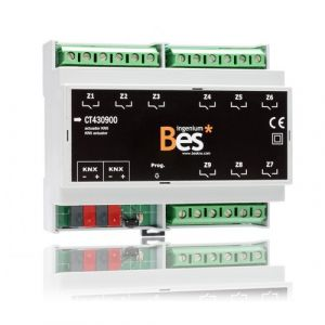 Ingenium Bes KNX schakelactor 9 uitgangen 16 Amp.