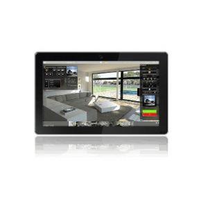 """Bab-tec Flattouch 18,5"""" Touch PC opbouw zwart"""