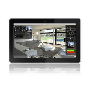 """Bab-tec Flattouch 21,5"""" Touch PC opbouw zwart"""