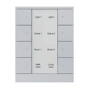 ABB Tenton KNX Tastsensor 8 v -aluminium