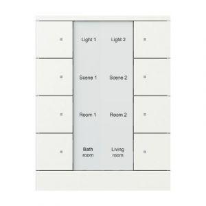 ABB Tenton KNX Tastsensor 8 v -wit mat