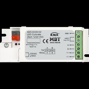 MDT LED Stuureenheid 2 kanaals voor witte LED strips