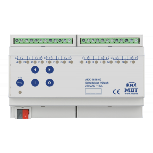 MDT Universele actor 16-voudig 16A 230VAC