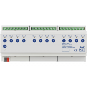 MDT Schakelactor 12-voudig 16A 230VAC C-last standaard 140µF stroommeting