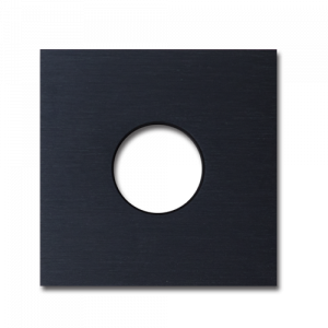 Basalte Auro wall cover - brushed black