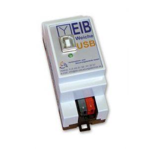 B+B Automation EIBWeiche Visualisering USB DIN-rail montage